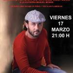 (Andalucía)- El cantaor Flamenco reivindicativo Manuel Céspedes ofrecerá un recital en la Tertulia Flamenca las Colonias, en Huelva
