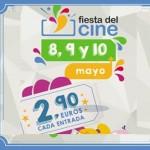 """Comienza la nueva edición de """"La Fiesta del Cine"""", que se celebrará los días lunes 8, martes 9 y miércoles 10 de mayo"""