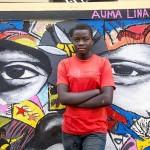 Artistas callejeros internacionales ayudan a niños refugiados de Sudán del Sur a contar sus historias