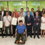 La ONCE entrega los Premios Tiflos de Periodismo