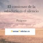 El comienzo de la sabiduría es el silencio