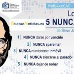 Los 5 NUNCAS de Steves Jobs