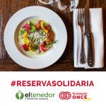 'ElTenedor' donará 1 euro a Fundación ONCE por cada reserva realizada para el 4 de enero