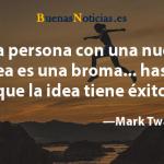 Una persona…