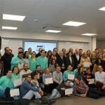 (Castilla y León) – Los primeros alumnos de la Escuela de Excelencia Industrial de L'Oréal y Fundación Aspanias Burgos se incorporan al mercado laboral