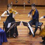 Fundación Talgo se une a la Escuela Superior de Música Reina Sofía  para subvencionar un cuarteto de cuerdas