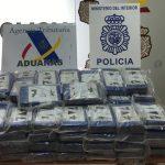 La Agencia Tributaria y la Policía Nacional realizan en el puerto de Algeciras la mayor aprehensión de cocaína hasta la fecha en España