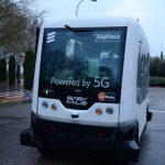 Telefónica presenta el primer vehículo autónomo con 5G en Talavera de la Reina