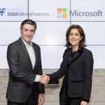Microsoft y Fundación Microfinanzas BBVA se unen en el desarrollo de iniciativas que favorezcan la innovación y el emprendimiento en comunidades vulnerables
