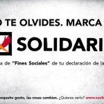 Más de 7 millones de personas en situación de vulnerabilidad se beneficiarán de la casilla solidaria de la renta