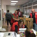 Cruz Roja consigue más de 1,4 millones de desayunos y meriendas para niños necesitados