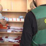 Desarticulada una banda dedicada a la fabricación y distribución de medicamentos ilegales