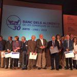 Carrefour y su fundación, galardonadas por el Banco de Alimentos del Girona
