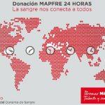Mapfre anima a sus empleados de todo el mundo a donar sangre