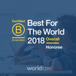 "Worldcoo recibe el premio ""Best for the World"" 2018"