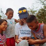 Rumbo a Tanzania, Brasil, Filipinas: 250 Voluntarios de Telefónica participarán en las vacaciones solidarias más internacionales.