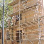 El Taller de Empleo San Joaquín continúa trabajando en la recuperación del ex convento