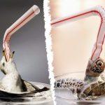 Greenpeace pide acabar con los 13 millones de pajitas de plástico que se usan a diario en España