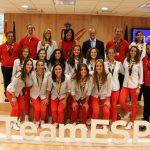 Recibimiento al equipo femenino de Hockey Hierba que consiguió el bronce en el Campeonato del Mundo de Londres