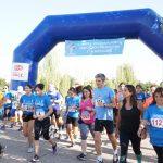 Cerca de medio millar de madrileños corren la II 'Carrera Solidaria' por la educación financiera inclusiva de las personas con discapacidad
