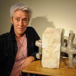 La escultora Gema Labayen muestra 'El lenguaje de la piedra', en el Museo Tiflológico de la ONCE