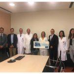 La Unidad de Hospitalización de Neumología del hospital de la Santa Creu i Sant Pau recibe el I premio Linde Humaniza