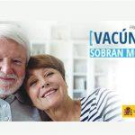 Sanidad recomienda la vacunación frente a la gripe a personas mayores, grupos de riesgo y personal sanitario