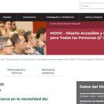 La Universidad de Jaén oferta su II curso online en abierto sobre 'Diseño accesible, diseño para todas las personas'