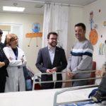 La Organización Nacional de trasplantes (ONT) se suma a los actos conmemorativos de los primeros 1.000 trasplantes pulmonares realizados en el Hospital Vall d´Hebrón