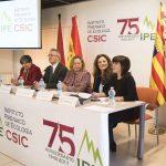 Broche de oro al 75º aniversario del Instituto Pirenaico de Ecología