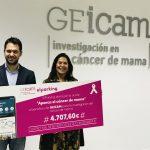ElParking dona la recaudación del 19 de octubre a GEICAM