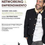 Conferencia sobre Marketing Digital impartida por el experto Joe Pérez-Orive