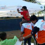 World Vision pone en marcha espacios seguros en Tijuana para los niños de la caravana de migrantes