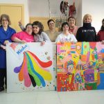 Usuarios de la Fundación Esfera ganan dos premios de pintura en el Concurso Art&inclusión