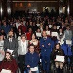 Se entregan 90 becas 'Oportunidad al Talento' a universitarios con discapacidad