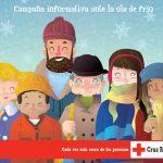 Cruz Roja lanza 'Yo me protejo', campaña informativa ante la ola de frío