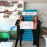Arriva Galicia dona 10.040 euros a la Fundación Andrea para para apoyar a niños con enfermedades de larga duración, crónicas o terminales