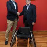 Fundación ONCE y la Federación Madrileña de Deportes para Discapacitados Físicos promueven el baloncesto en silla
