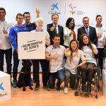 """Rienda destaca la importancia de """"seguir sumando en el deporte"""" con acuerdos como el del Comité Paralímpico Español y CaixaBank"""