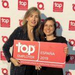 """PepsiCo España """"Top Employer 2019"""" por decimotercer año consecutivo"""