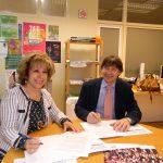 Fundación Pioneros y Fundación Laboral de la Construcción firman un acuerdo de colaboración
