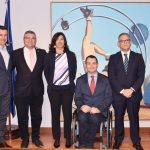 Firma del convenio de colaboración entre las Federaciones Españolas de Deportes de Personas con Discapacidad  y la Real Federación de Deportes de Invierno