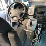 Fundación ONCE ha llevado a Startup Olé 2019 una furgoneta que se conduce con joystick