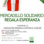 Mercadillo Solidario «Regala Esperanza»
