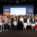 Se entrega el Premio Acción Magistral 2018 a seis grupos de alumnos por sus ideas innovadoras para transformar sus centros