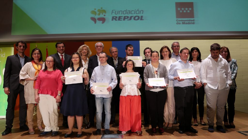 Los artistas con síndrome de Down reivindican sus capacidades creativas en la entrega de premios del Concurso Internacional de Pintura y Dibujo