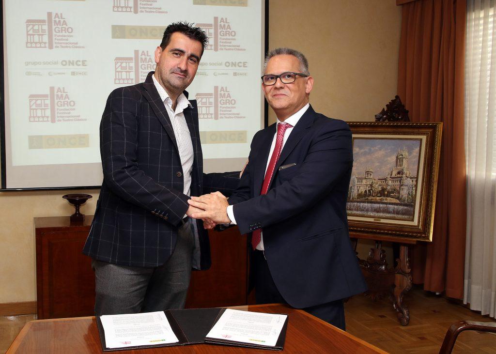 El Festival de Almagro y la ONCE renuevan su convenio para hacer del festival un hecho cultural inclusivo y accesible