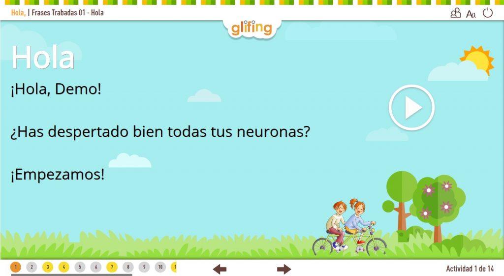 Glifing pone en marcha una DEMO de su plataforma para combatir las dificultades de lectura