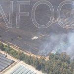 Controlado el incendio forestal del Parque Natural de Doñana