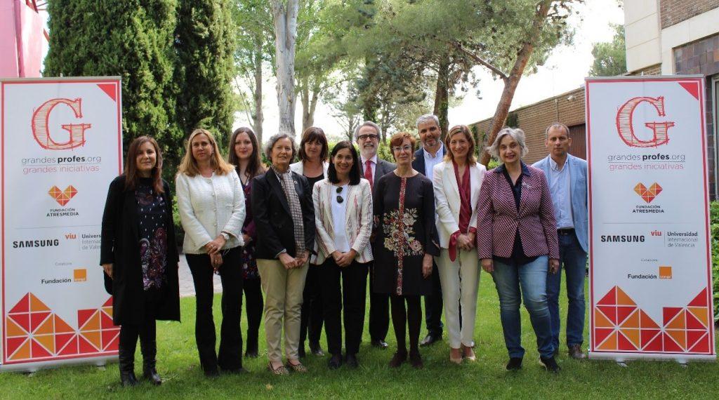 Elegidos los ganadores de la 6ª edición de los  Premios 'Grandes Profes, Grandes Iniciativas'